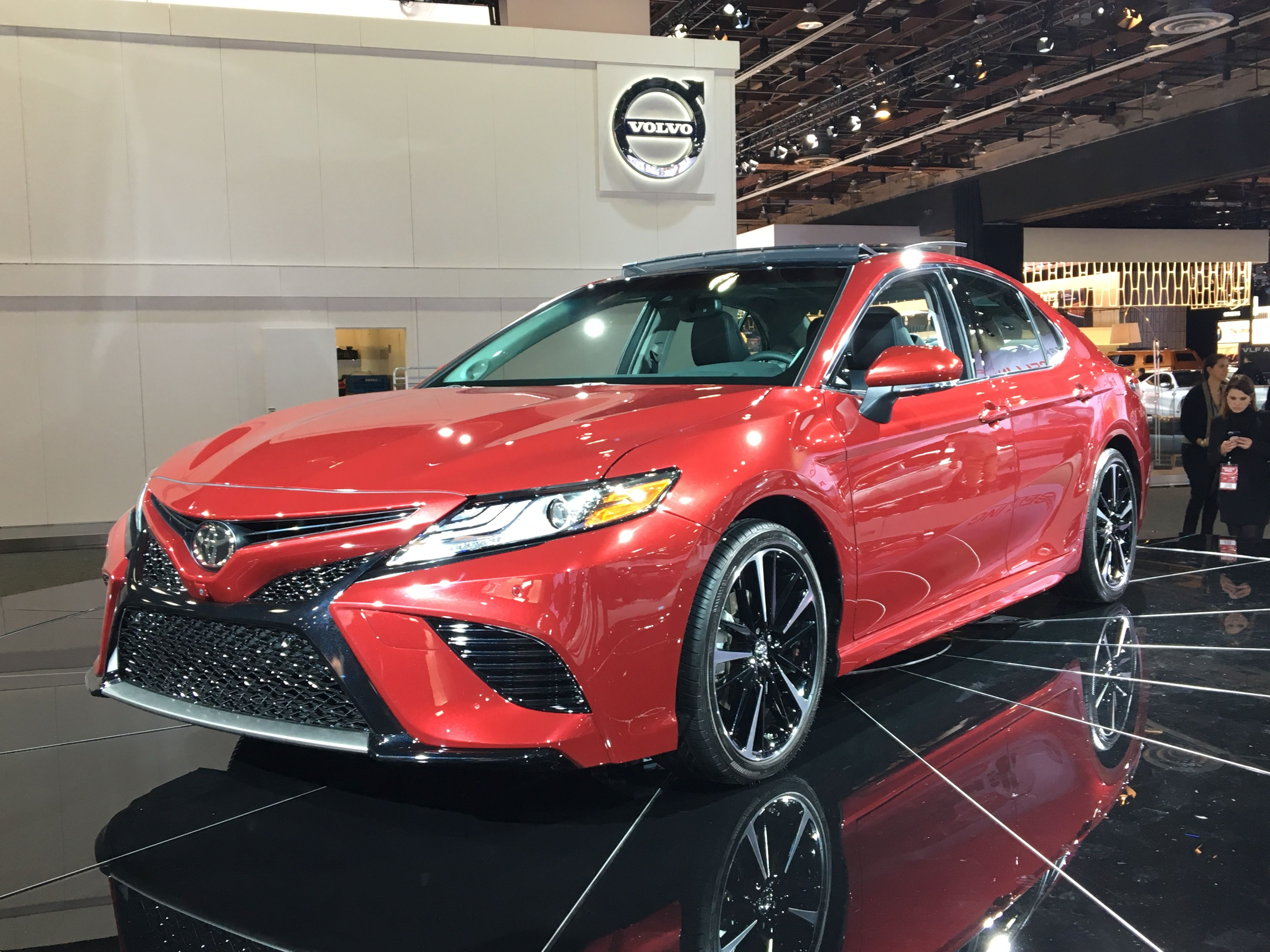 The 2018 toyota camry xse