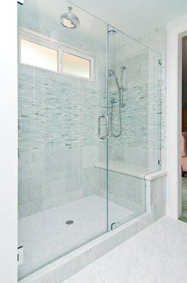 Walk in showers with seat large walk in shower big for Huge walk in shower
