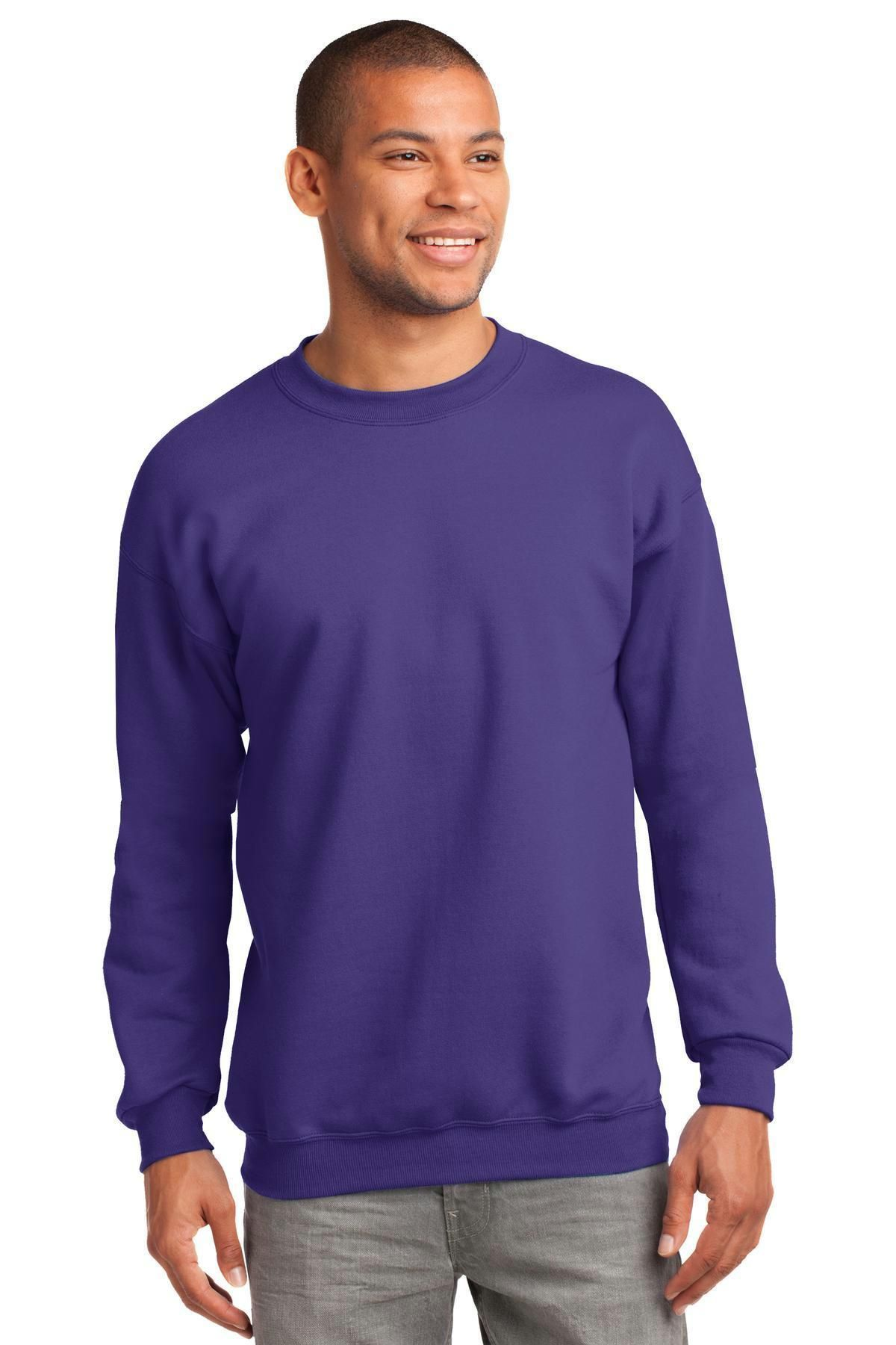 59f3143615 Port & Company - Essential Fleece Crewneck Sweatshirt. PC90 ...