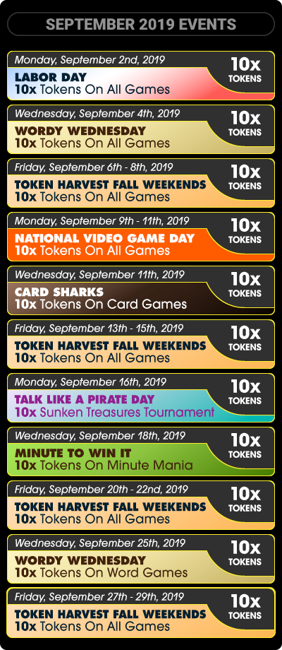Token Games/Events Pch sweepstakes, Publisher