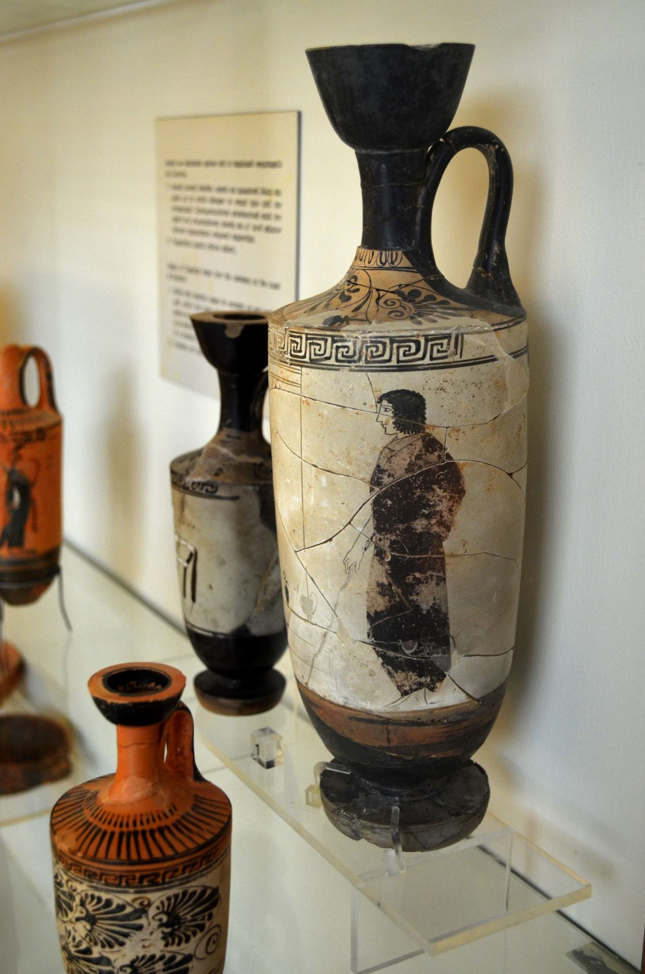 Archaeological museum of laurion a white ground lekythos with a archaeological museum of laurion a white ground lekythos with a scene of mourners from reviewsmspy