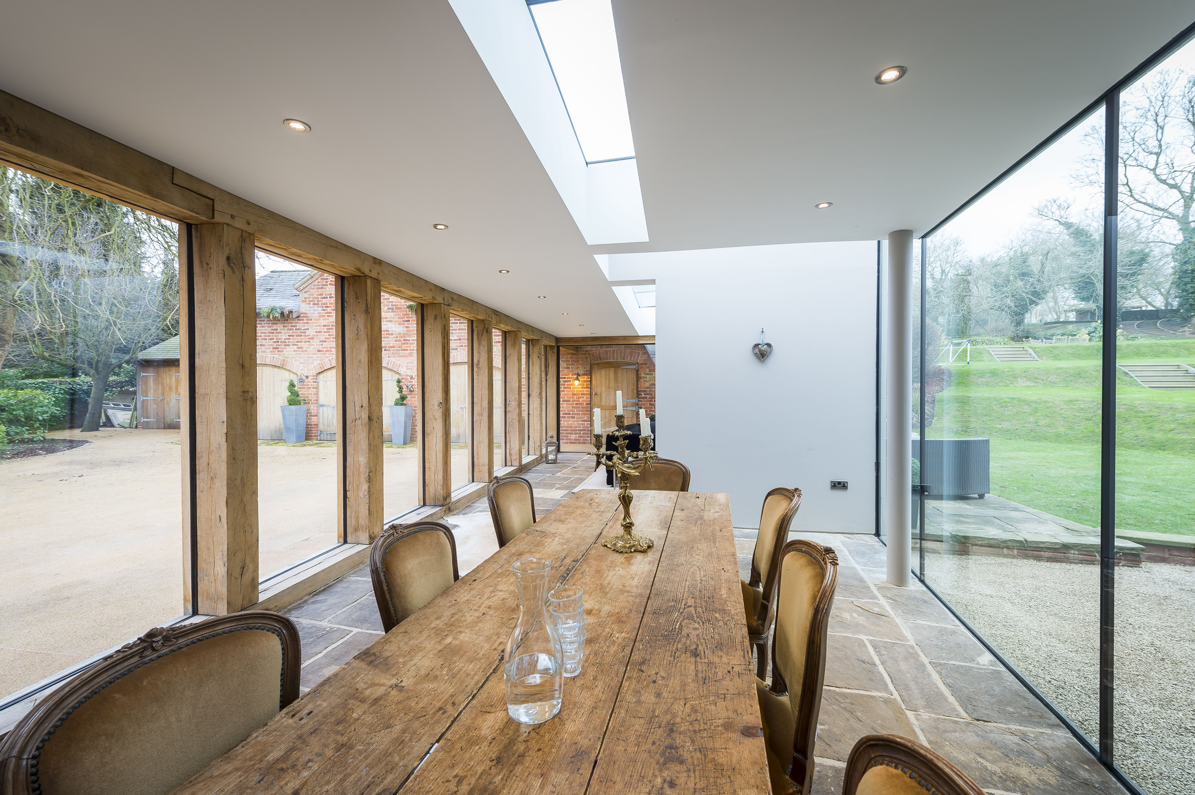 Adding A Modern Glass Extension To A Listed Georgian House