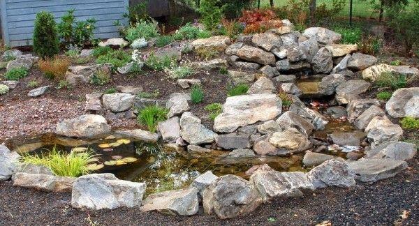 stein garten wasserteich anlegen tipps zuk nftige projekte pinterest steingarten anlegen. Black Bedroom Furniture Sets. Home Design Ideas