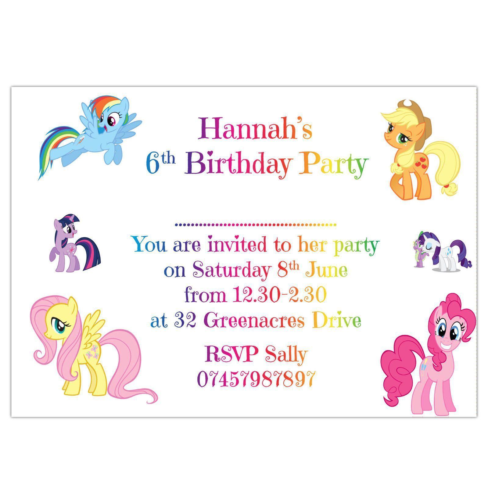 Einladung Kindergeburtstag Kostenlos Drucken | Geburtstag Einladung ...