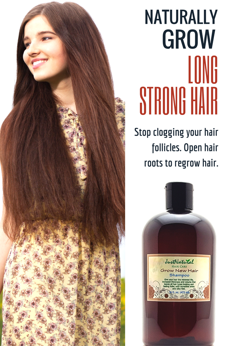 Focus on your scalp and follicles for faster hair growth. Maybe you ...