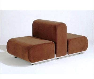 Kazuhide Takahama Suzanne Double Lounge Chair (1965) - KnollStudio