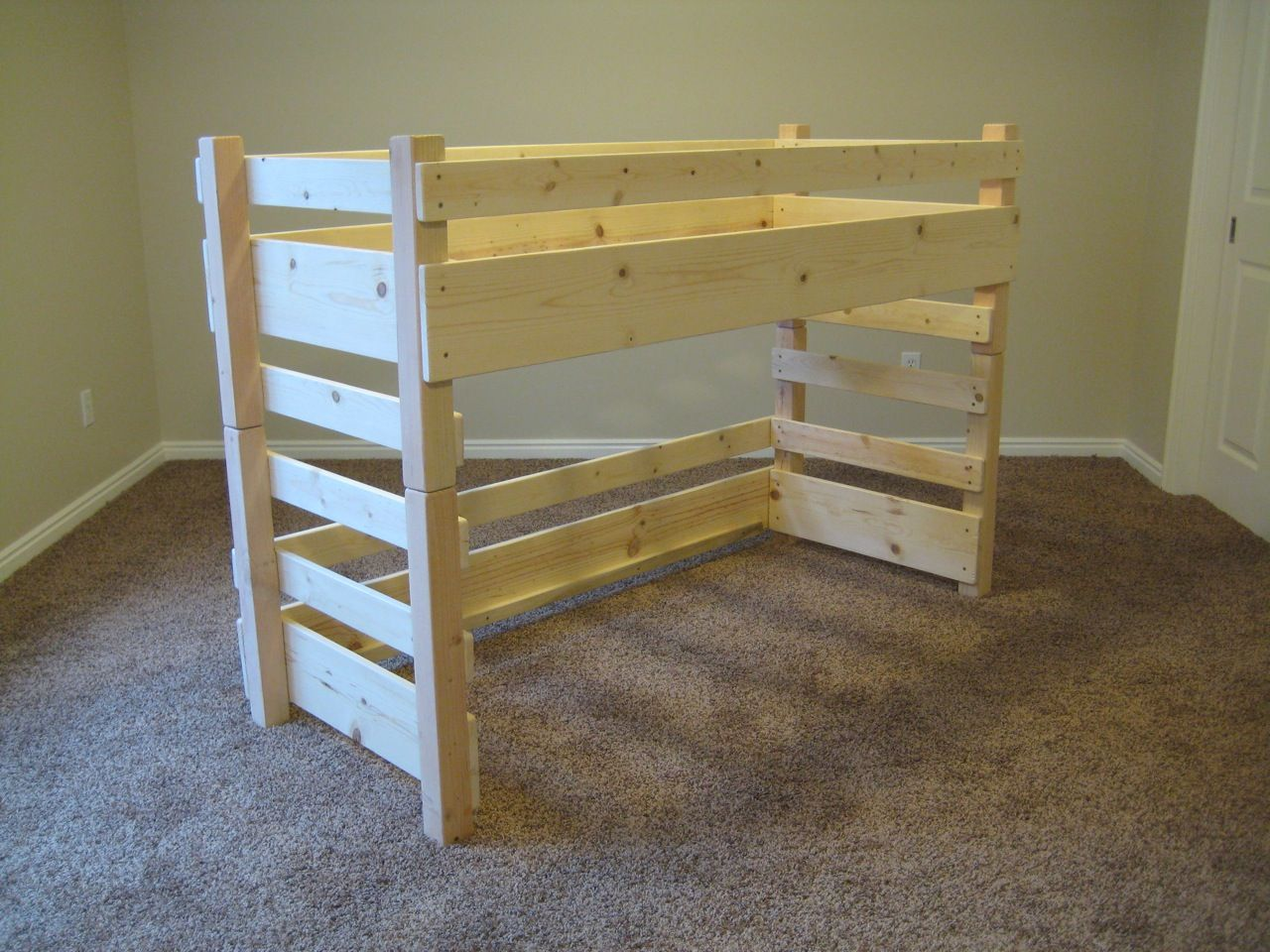 kids toddler loft beds by lil 39 bunkers it 39 s crib size things we are working on bricolage. Black Bedroom Furniture Sets. Home Design Ideas