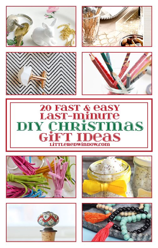 20 Fast & Easy Last-Minute DIY Christmas Gift Ideas | DIY ...