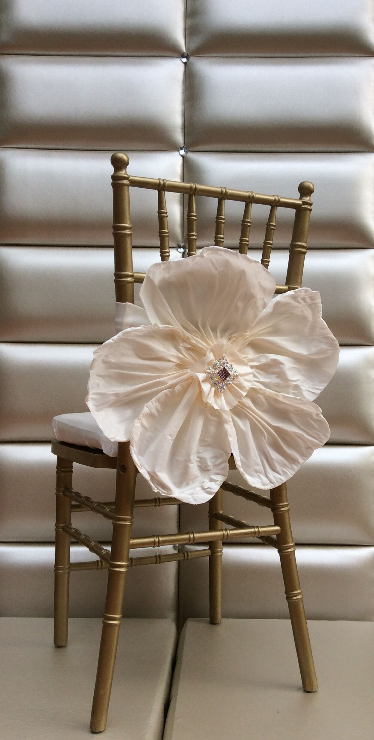 Flower Chair Cover