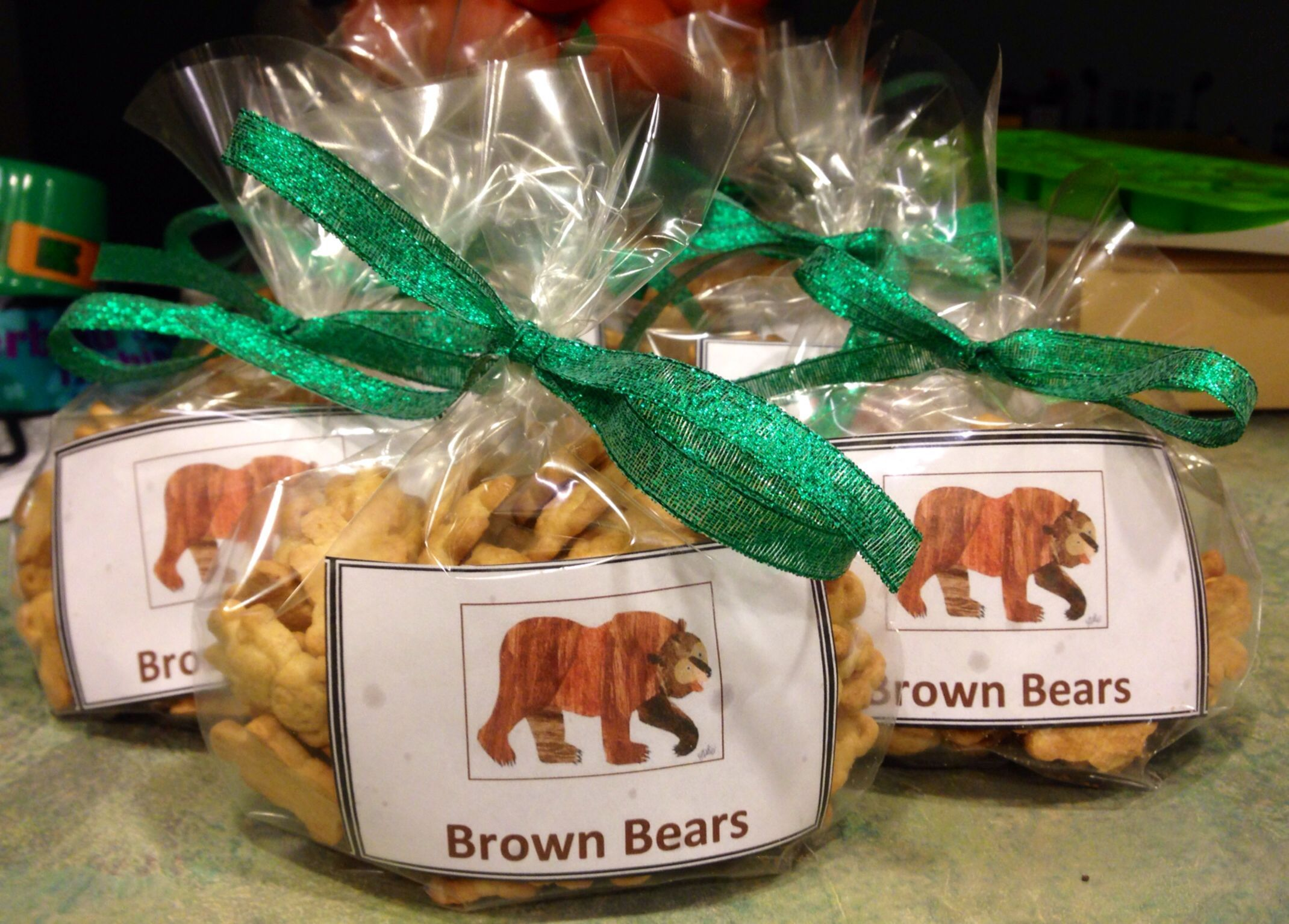 Eric Carle Brown Bear Snacks For Preschool Honey