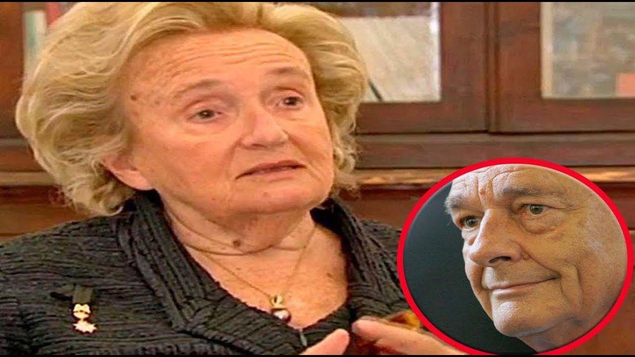 Bernadette Chirac Brise Le Silence Pour La 1ere Fois Bernadette Chirac Chirac Info People