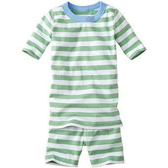 Amazon.com: Hanna Andersson Little Boy Short John Pajamas In Organic Cotton: Clothing