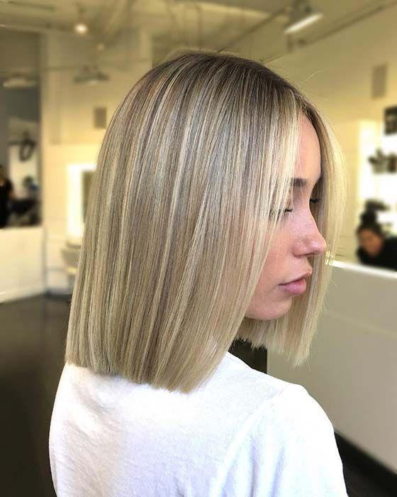 23 Trendy Short Blonde Hair Ideas For 2019 Stayglam Blonde Bob Haircut Long Bob Hairstyles Bobs Haircuts