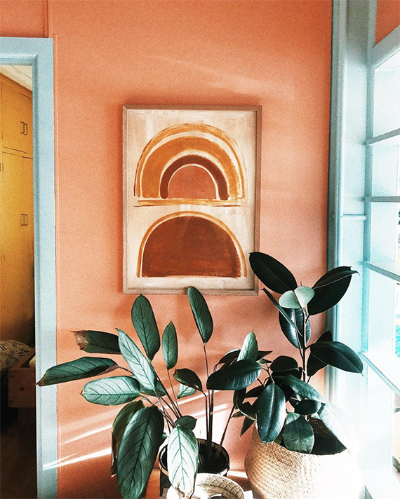 A Touch Of Terra Cotta Trend Center By Rugs Direct Decor Interior Paint Home Decor #peach #color #paint #living #room