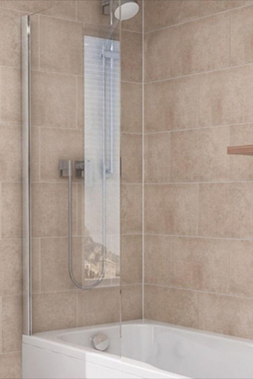 beige stone tile effect bathroom panels in 2020  beige