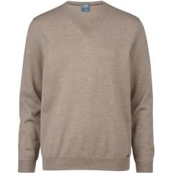 Photo of Olymp Strick Pullover, modern fit, Nougat, Xxl Olymp
