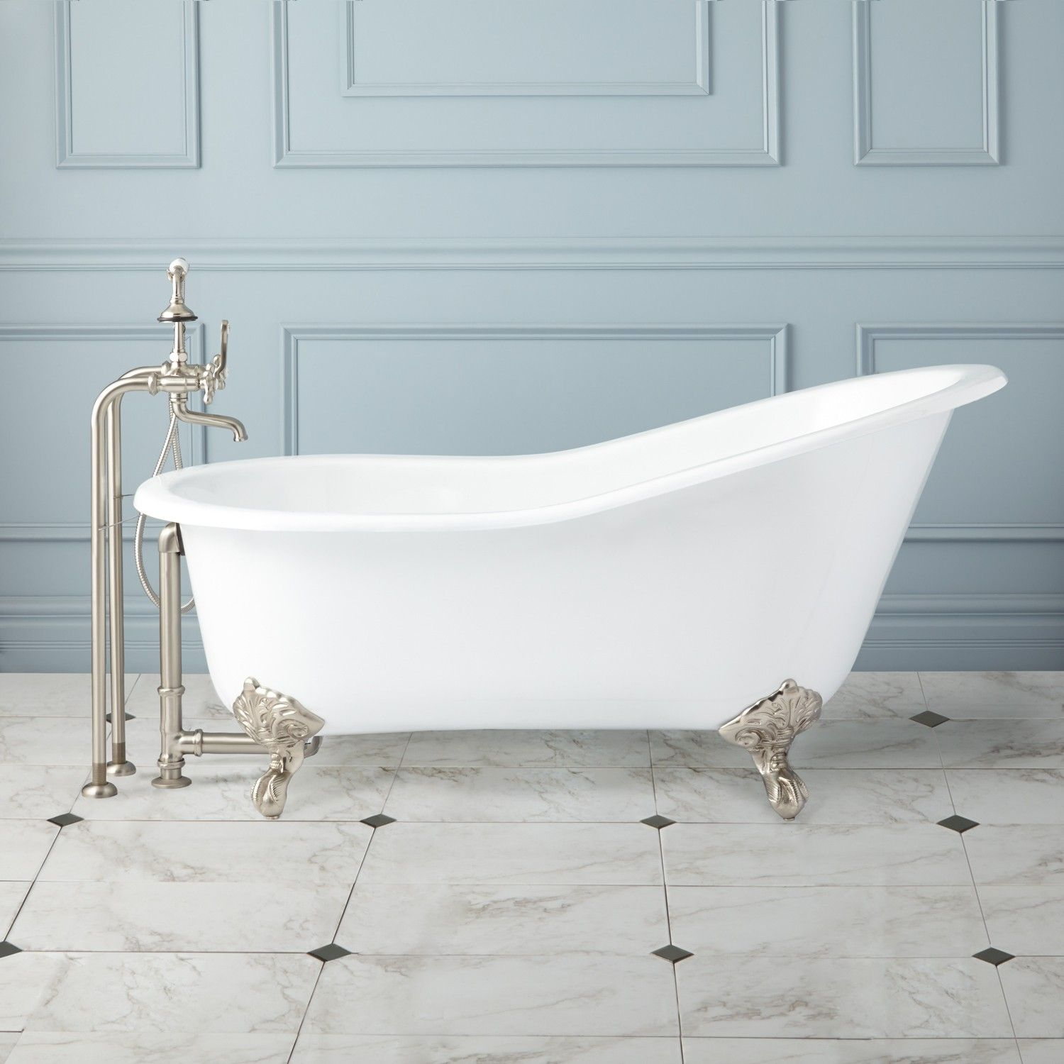 How A Cast Iron Tub Can Improve Your Home S Appearance With