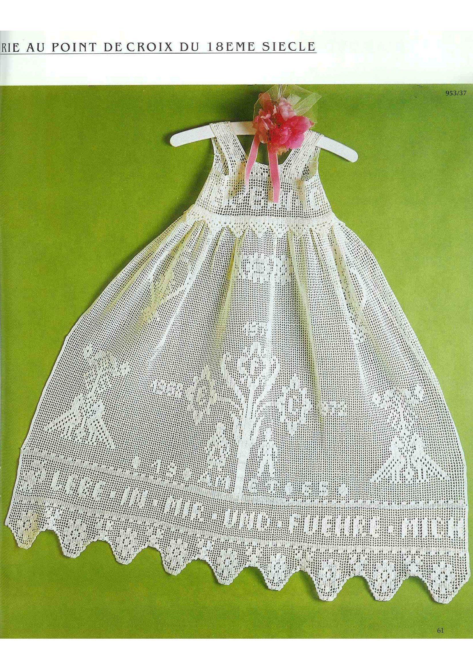 Full Filet Crochet Book Burda including crochet charts altar lace religious motives