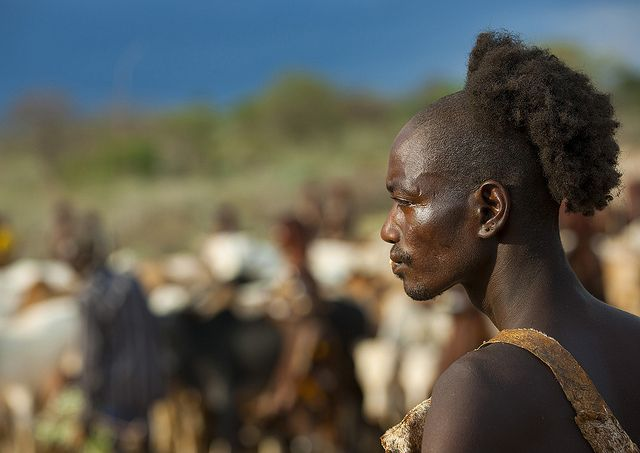 TRIP DOWN MEMORY LANE HAMER PEOPLE THE ETHIOPIAN TRIBE WITH THE - Ethiopian hipster hairstyle
