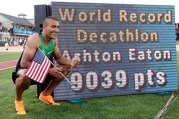 olympic trials - 2012 decathlon world record - Ashton Eaton#Repin By:Pinterest++ for iPad#