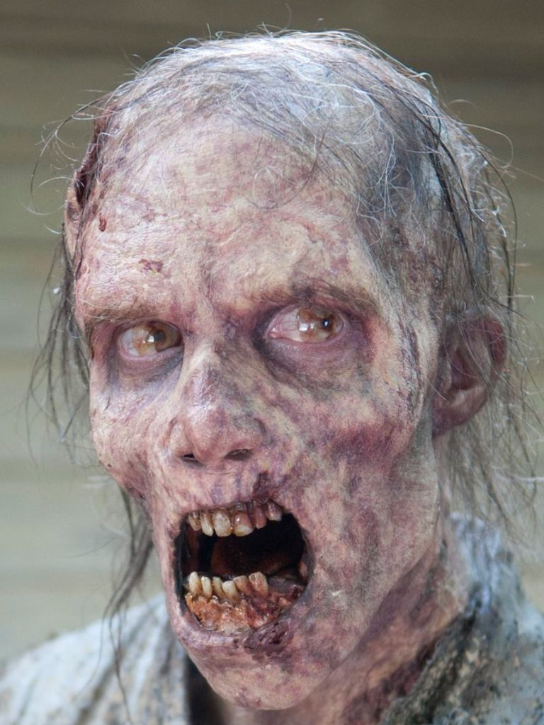 The walking dead season 4 walker