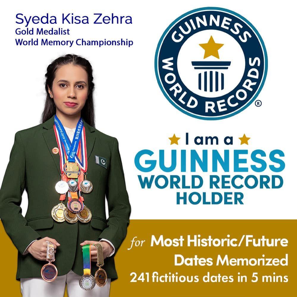 Syeda Kisa Zehra | Pakistani Girls Beat India and Sweden | Guinness World Records