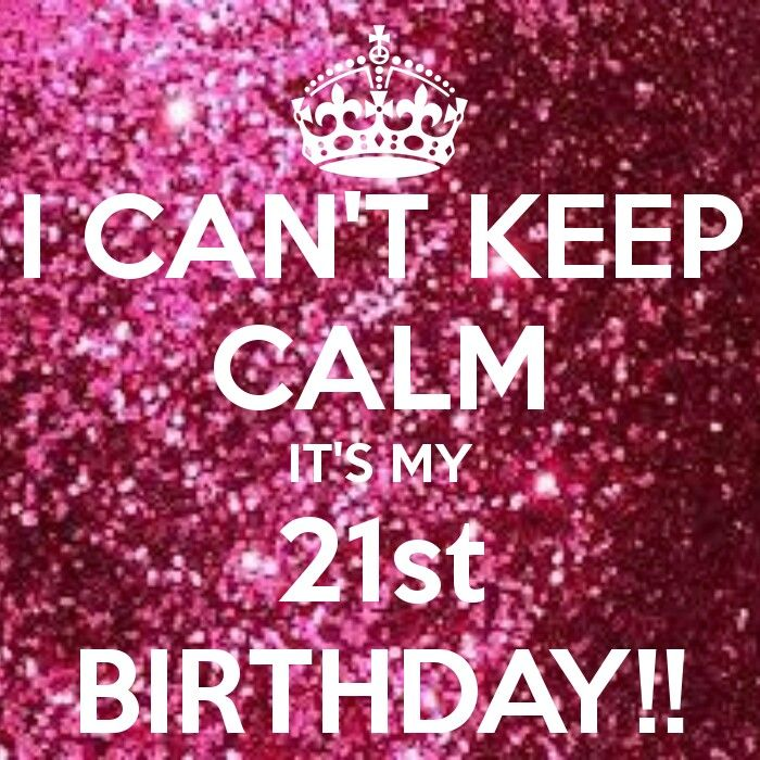 Its my 21st Birthday!!! I Thank you God for protecting me