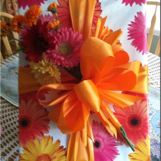 Gift Wrapping Ideas For Wedding: Bridal Shower Gift Wrap Ideas.