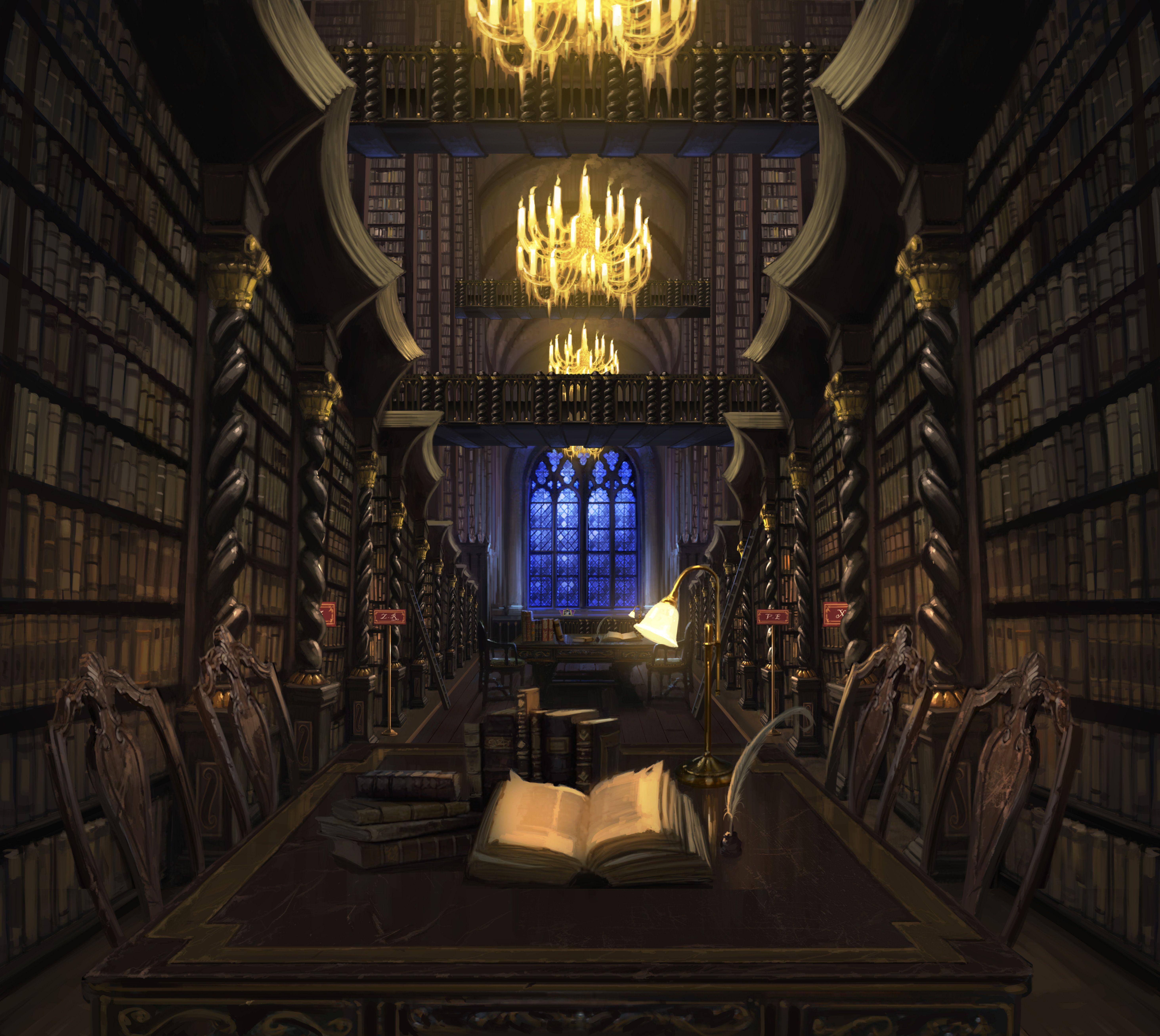 Hogwartslibrary Pm B1c15m1 Hogwartslibrarywithbook Moment Jpg 5854 5228 Hogwarts Library Hogwarts Harry Potter Fan Art