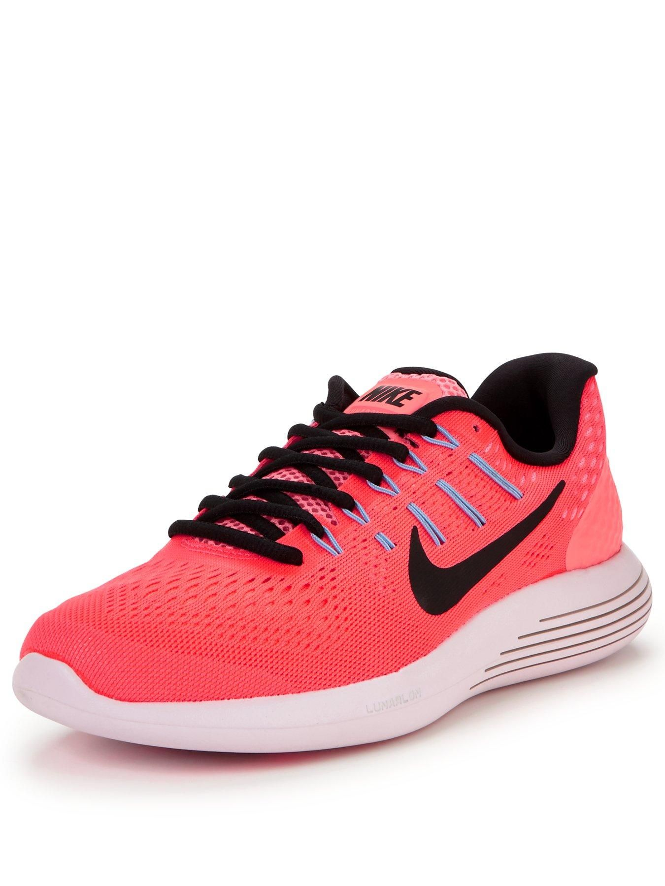 premium selection c4189 c2de7 Nike LunarGlide 8 - Pink Black When it comes to running, cushioning is key