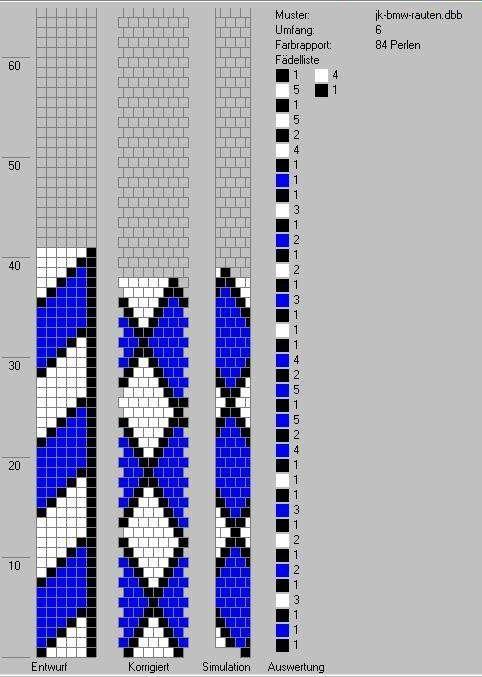 Schlauchketten Hakeln Musterbibliothek Bmwrauten Jk Hakeln Perlen Armbander Perlenkette Muster Perlen Hakeln