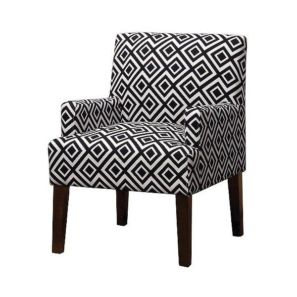 Skyline Dolce Upholstered Arm Chair Ace Switch Black White 200