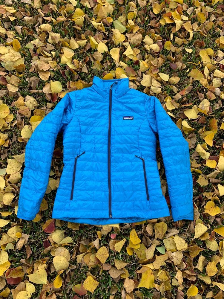 Patagonia Ladies Nano Puff Jacket Color: Lapis Blue Size