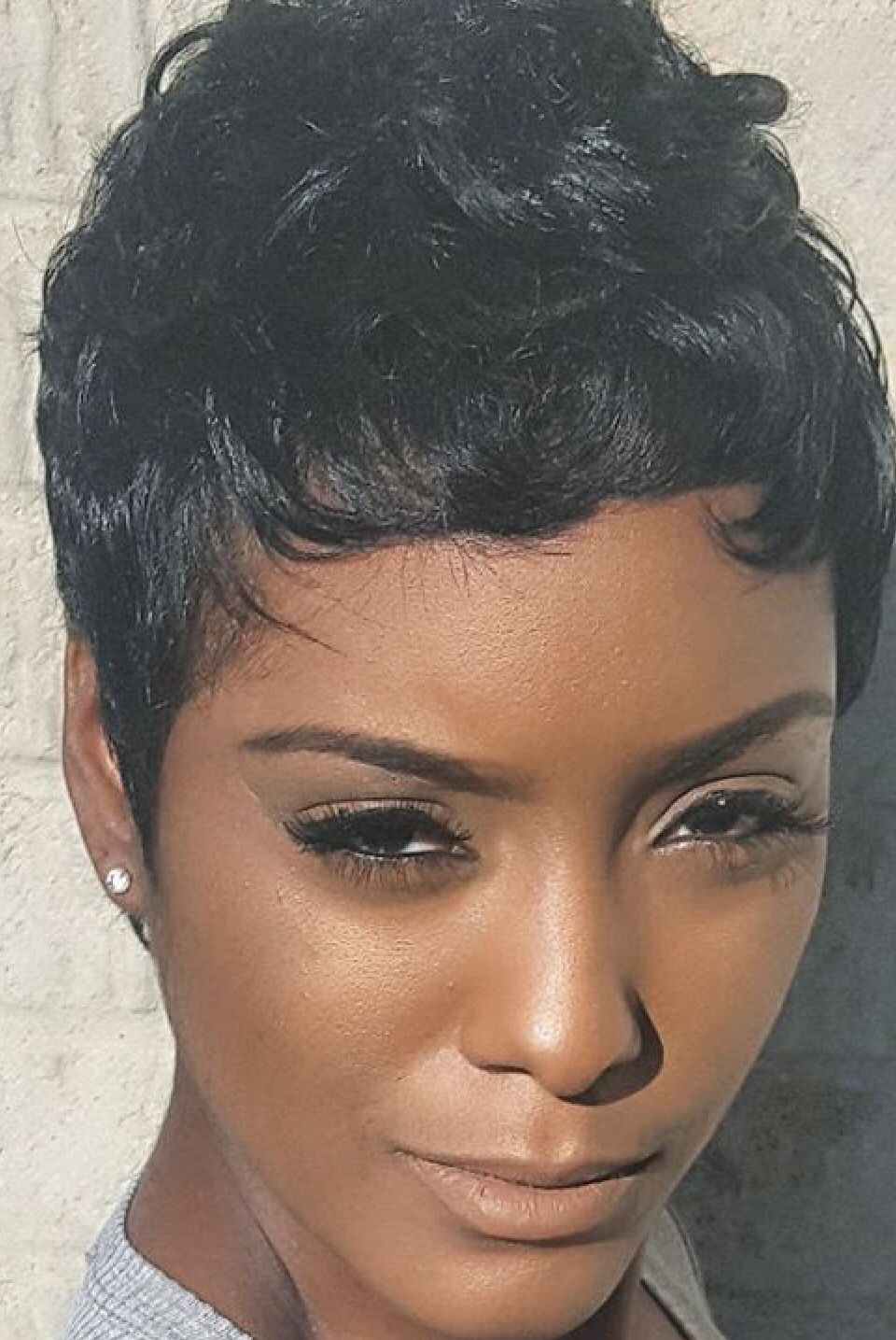 pixie cut styles for black hair pixie pinteres 2197