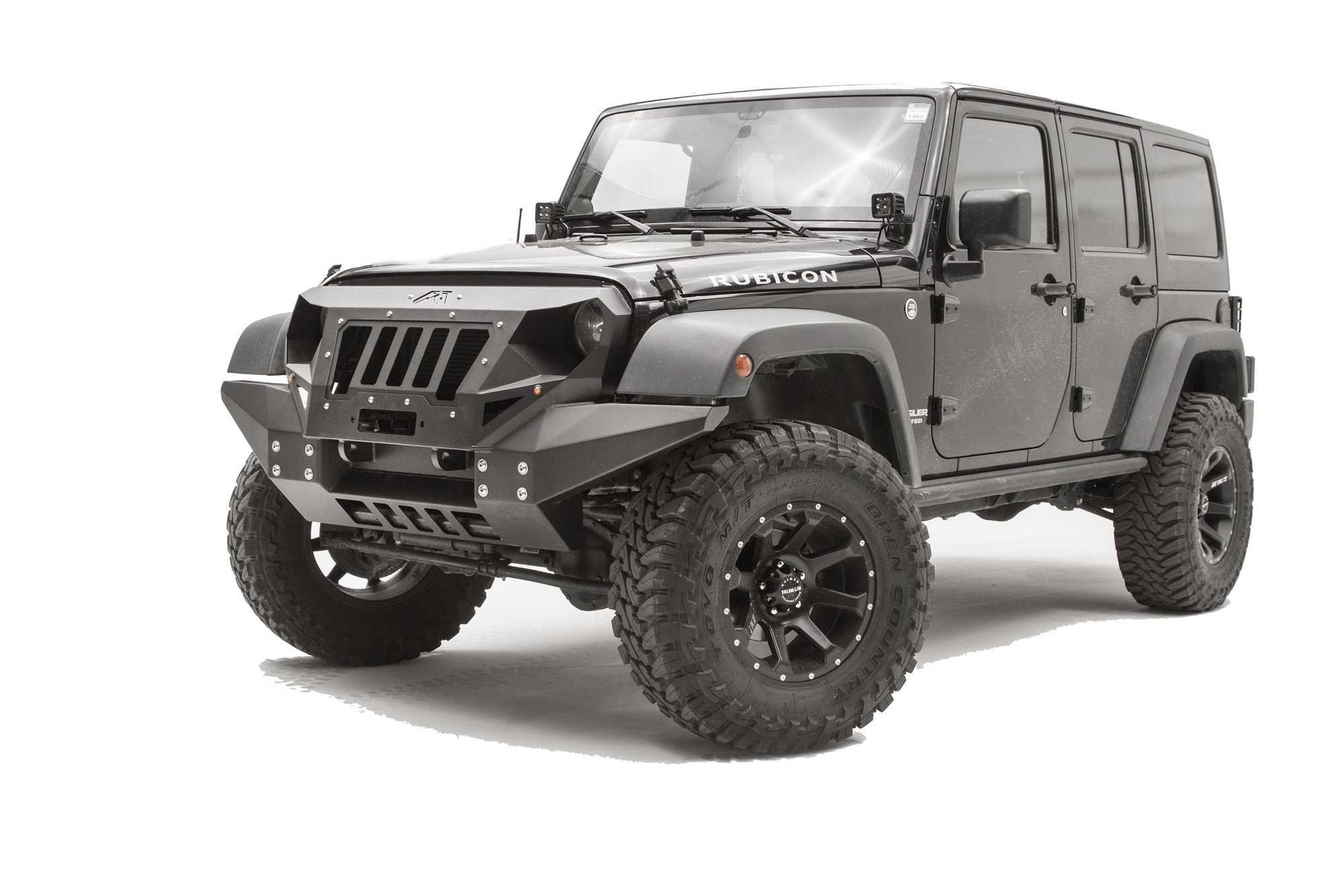 Fab fours full width grumper for jeep wrangler jk