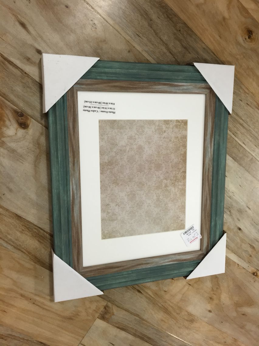Home Goods - Distressed wood frame - for my license? $12.99 - Holds ...