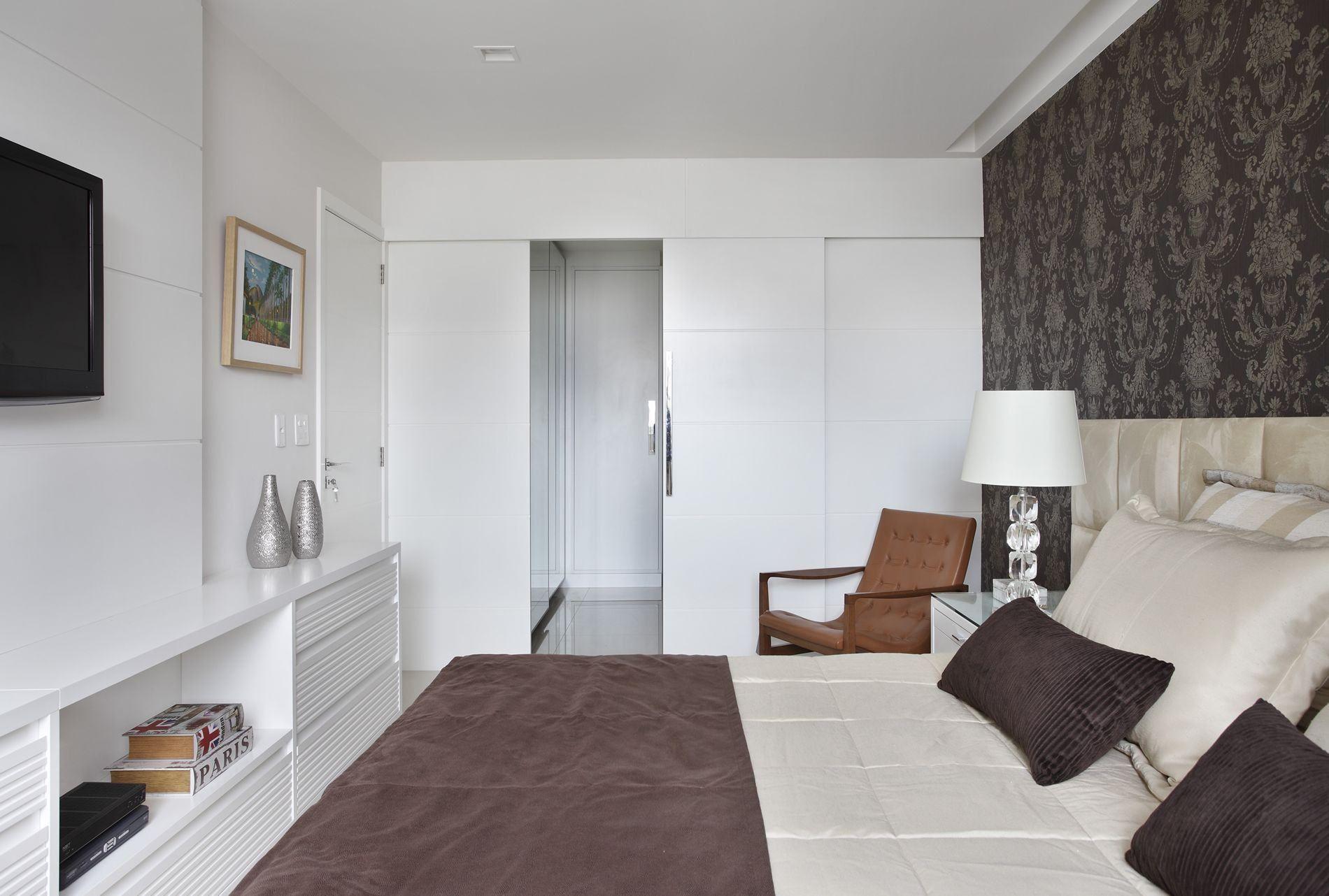 Quarto De Casal Planejado 60 Projetos Fotos E Ideias  ~ Quarto De Casal Planejado De Apartamento Pequeno