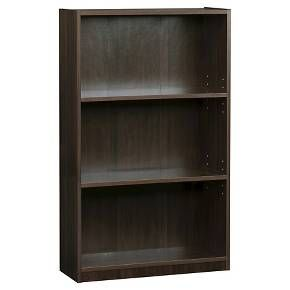 3 shelf bookcase espresso room essentials target for my class pinterest espresso. Black Bedroom Furniture Sets. Home Design Ideas