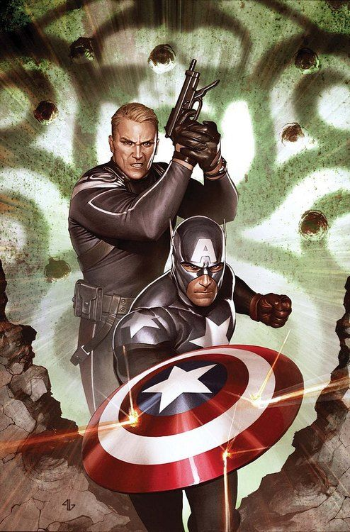 Captain America & The Super Soldier Steve Rogers.