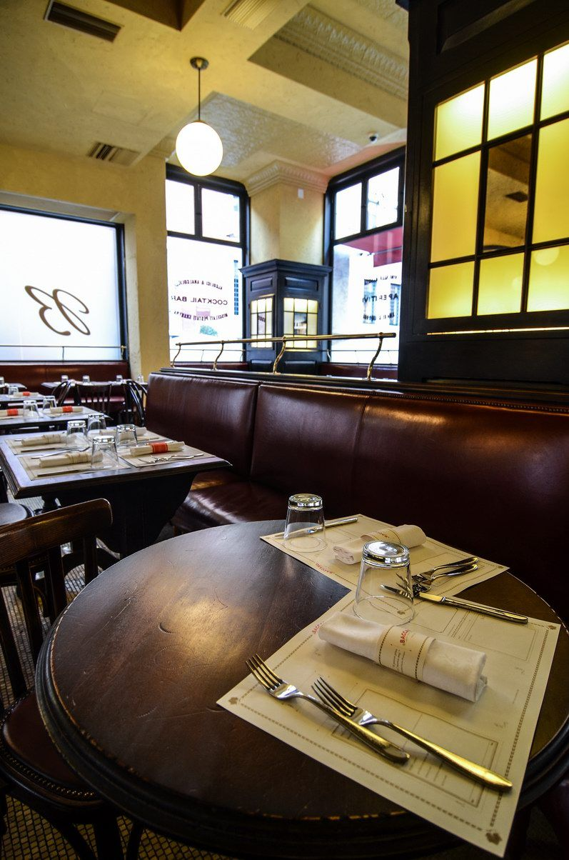 Baccano Restaurant, Bistrot Rione Trevi, design and made by RPM Proget Photo: Alessandro Maggi