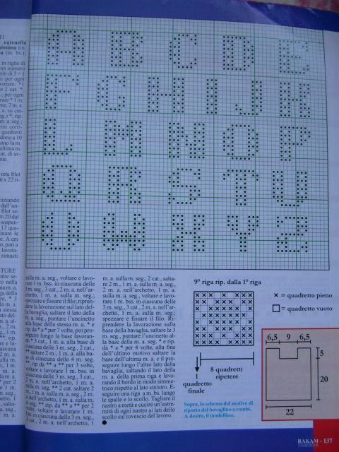Alphabet to Crochet   How 2s for Ideas   Bobble stitch crochet  Crochet alphabet  Crochet letters