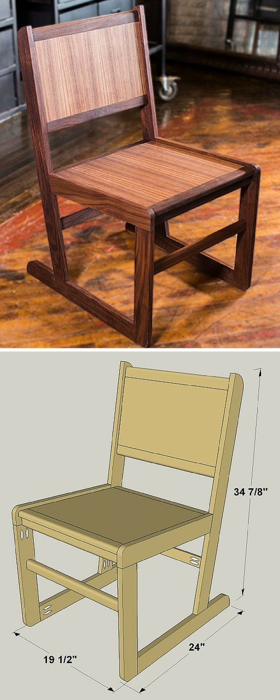 How To Build A Diy Dining Room Chair Free Printable Project