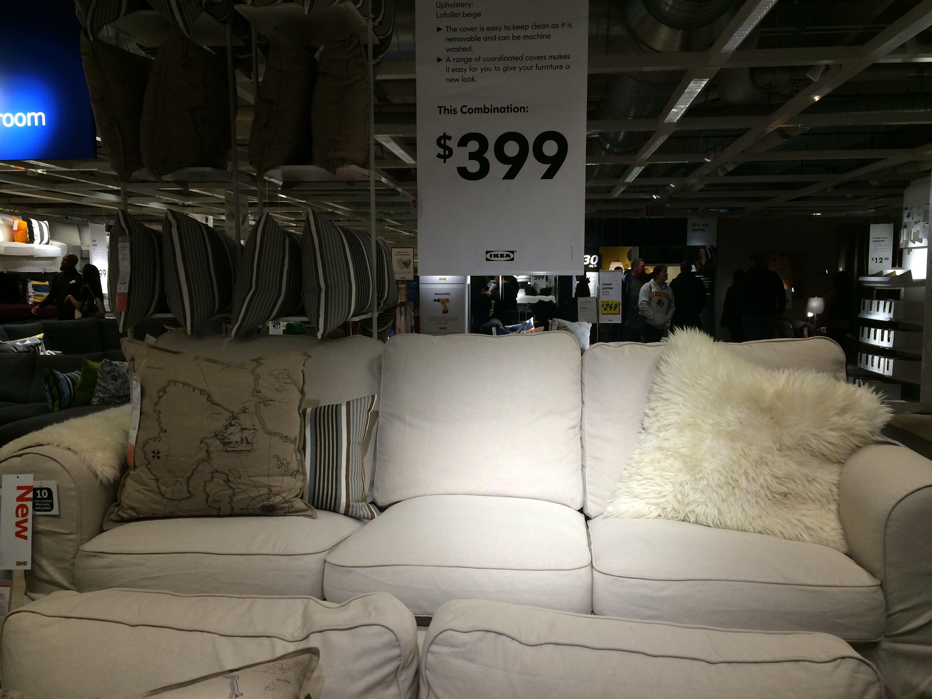Ektorp Sofa With Lofallet Beige Cover 399 House
