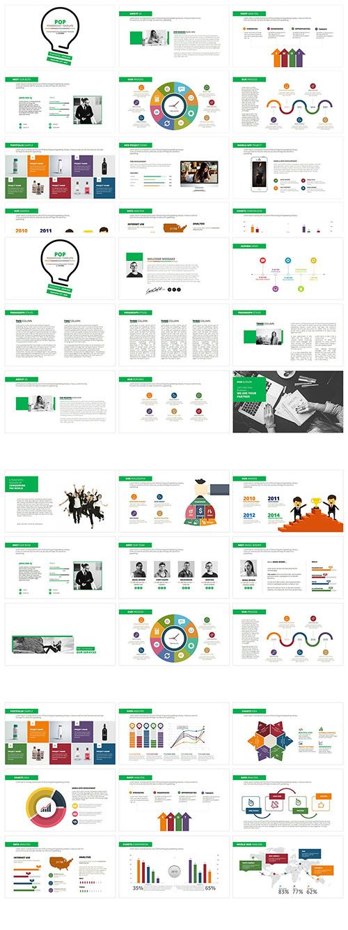 pop powerpoint graphics pinterest powerpoint presentation