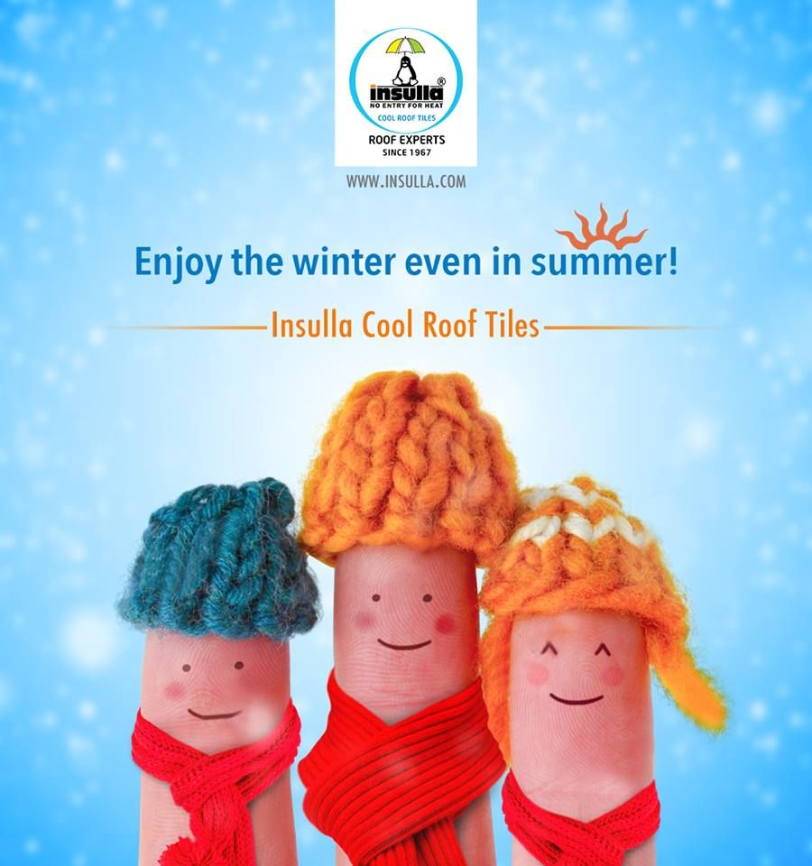 Enjoy The Winter Even In Summer Cool Roof Roof Tiles Roof