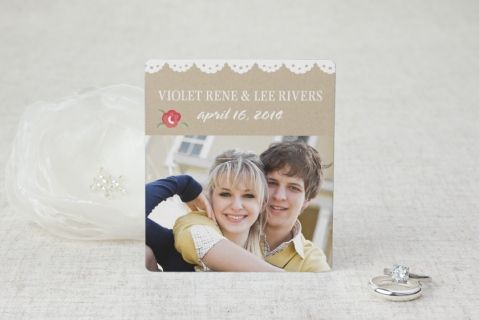 Sweet As Pie Save the Date Magnets