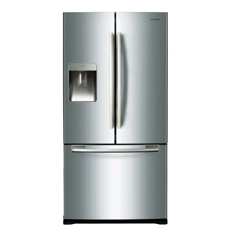 Samsung French Door Fridge Freezer With Water And Ice Dispenser Makro Online Fridge French Door Samsung Fridge French Door French Doors