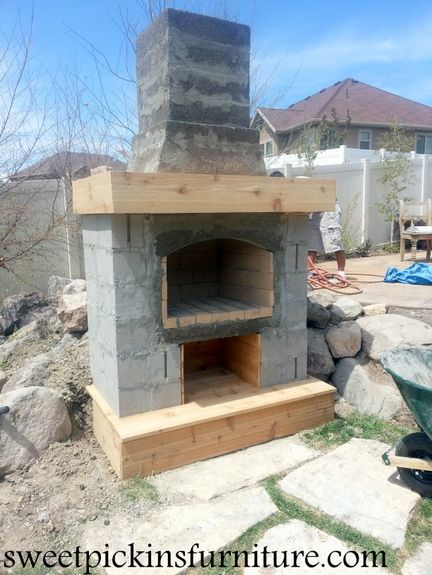 We Want To Build A Diy Outdoor Fireplace.