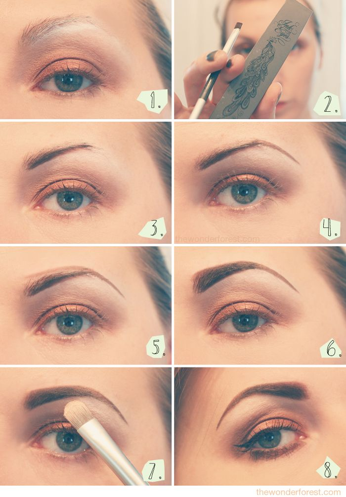 Eyebrow Tutorial: How I Fill My Brows - Wonder Forest