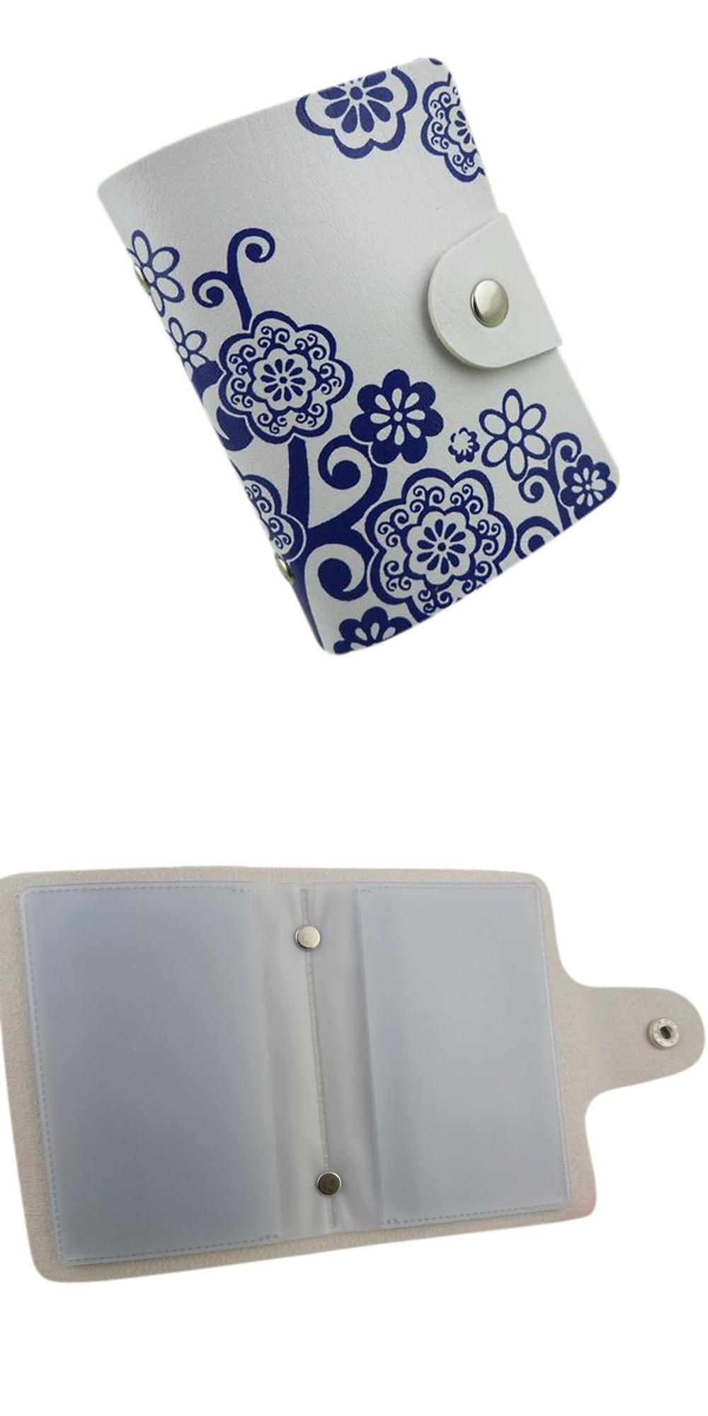 Visit to Buy] Chinese Classical Printing Credit Card Holder High